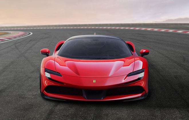 Ferrari SF90 Stradale the first hybrid